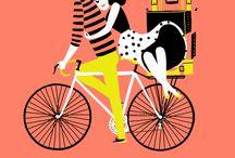 Bicycle Animation / Animowane gif-y z rowerem