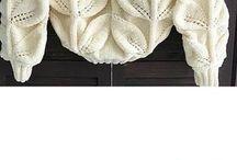 hvit genser.