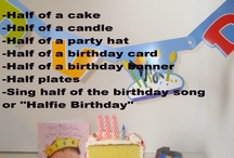 Half birthday party / by Melissa Williamson