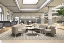 Government - Socialize / Places to take a break, have a meal, and have a conversation, with seating configurations that welcome you in and encourage you to stay awhile.