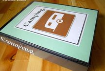Camping / Camping, recipes, organization, vintage trailers