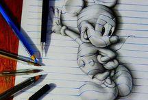 Kresby tužkou