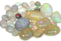 Gemstone Opal / Opal is the birthstone for October (The Scorpio and Libra Birthstone). It is also the gem of the 14th and 18th wedding anniversary.