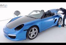 Car wrapping Porsche con Avery Spreme Wrapping Film