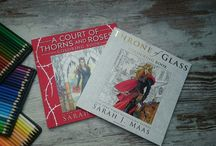 A Court of Thorns and Roses / A court of thorns and roses coloring book