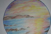 pencil color art