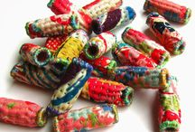 FABRIC BEADS AND MORE!!