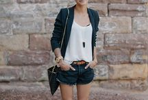 Short hair outfit