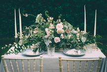 Blush and Grey Wedding Table Styling