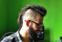 beardsftw: flickr-beard-power: Excellent Mohawk..Piercings..Glasses..and BEARD!! Follow: http://flickr-beard-power.tumblr.com/ [[ Follow...