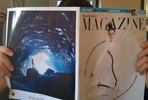 My Photography The Ice Cave ad looks great on the Weekend Australian Magazine!!! Thanks to @tanwal for the pic!