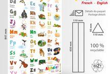 Produits éducatifs / Educational products - FROGandTOAD.net ©