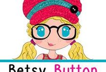 """Betsy Button Boutique / """"Betsy Button tells YOUR story :) What shall she do? Where shall she go next? """"  Betsy Button is a group boutique run by a great group of gals. We run a Facebook store together and make clothing and accessories for kids and mamas."""