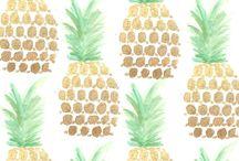 pineapple plantation / my love for pineapples / by Heidi Darrington