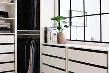 Closet e móveis