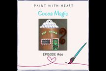 Paint with Heart Art Lessons