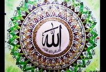 My work arabic calligraphy