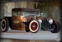 Rat Rod Car
