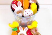 Maceta de mini galletas de Pascua / MEM Cakes & Cookies