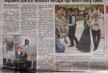 Press:  Square Dancing
