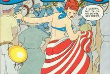 Underground Feminist comic-book