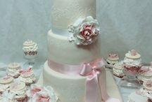Vintage wedding cake Hochzeitstorte / Vintage wedding cake Hochzeitstorte