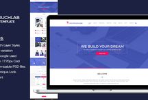 Webpage PSD Template