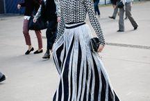 Fashion : Bold & Brave Patterns