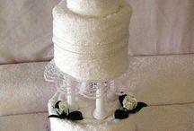 Gâteaux de serviettes