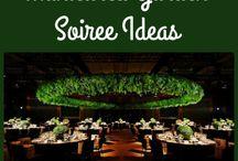 Indoor Garden theme Corporate Event