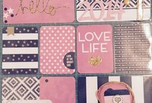 My 2014 Project Life / Scrapbook project life
