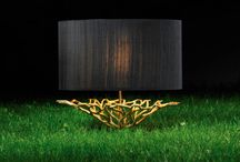 Luxe Gold / Gold is already trending massively with Interior Designers for 2015. Sumptuous gold lighting from our website and some other dazzling finds for your home. Enjoy!