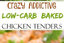 Low Carb chicken tenders