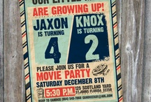 Joint Birthday Party for the Boys / by Kristy Ketterman