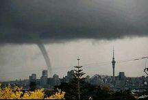 Tornados and lightning