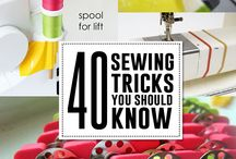 sewing tricks/aids