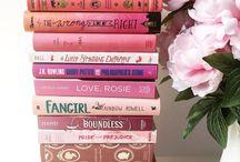 Pretty book stacks