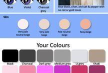 CP - Inverno Verdadeiro / Coloração Pessoal - Paleta Inverno Verdadeiro