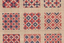Embroidery / クロスステッチなど、刺繍の作品