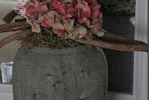 Deko-Ideen mit Blumen und Zweigen