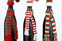Hat&scarf for bottle