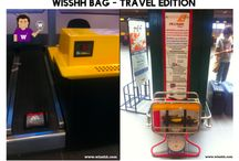 """WISSHH Travel Bag / Traveling is great and having an extra space to put """"stuff"""" in makes if even more relaxing and why not, fun. Discover more on www.wisshh.com the free social network for global travellers"""