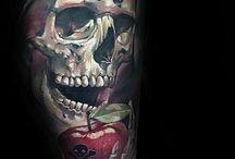 dödskallar tatuering