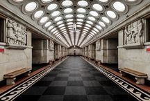Moscow / The Moscow Metro photo series - all lines, all stops