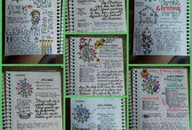 Bullet Journals / Bullet journal inspiration, tips, ideas, layouts.