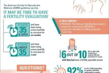 Fertility Infographics / Sharing fertility news and information in easy-to-understand graphics.