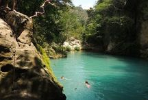 Travel Spots / It features famous travel spots in the Caribbean, Asian and Latino countries.