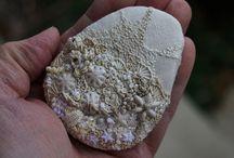 Stitch a rock