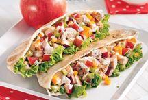 Salades et