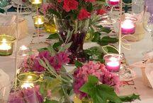Table sets / We love to create beautiful table settings and our guests enjoy them a lot :)